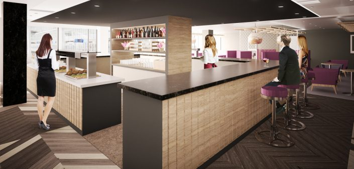 Aspire Airport VIP Lounge CGI