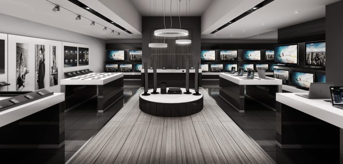 Retail Store 3d Visualisation