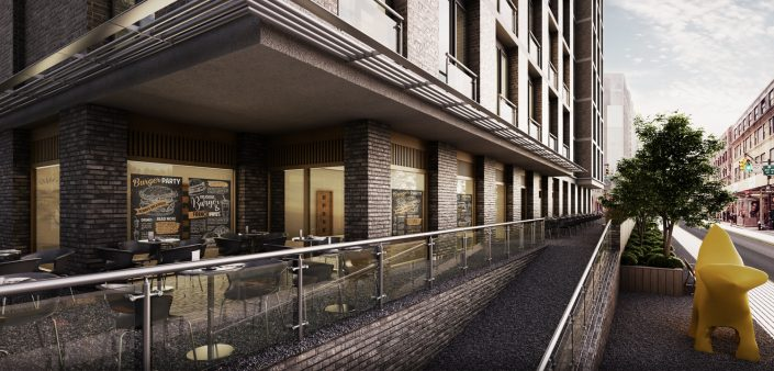 Apartment 3D Visualisation North West