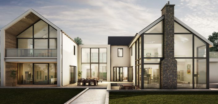Luxury New Build Rendering
