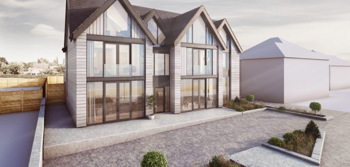 New Build Housing CGI