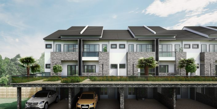 Townhouse CGI 3D Visualisation
